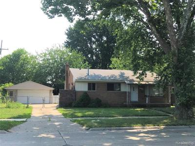Madison Heights Single Family Home For Sale: 28840 Park Crt