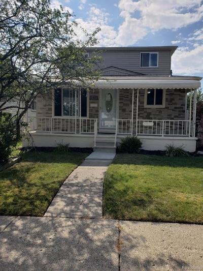 Dearborn Single Family Home For Sale: 4902 Detroit St