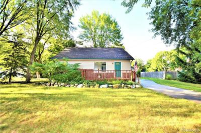 Waterford Single Family Home For Sale: 4467 Meigs Ave