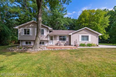 Clarkston Single Family Home For Sale: 5240 Mattawa Dr