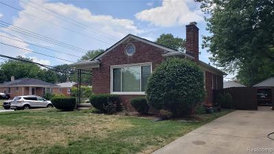 Wayne County Single Family Home For Sale: 19203 Eastborne St