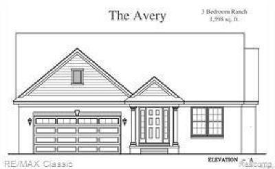 Wayne County Single Family Home For Sale: 17757 Vineyard St