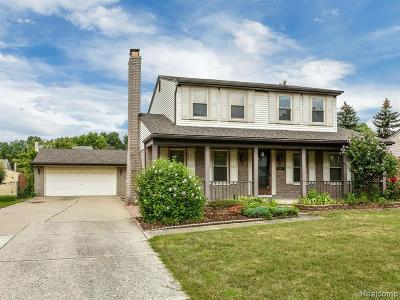 Sterling Heights Single Family Home For Sale: 12763 Herrod Dr