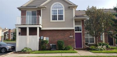 Clinton Township Condo/Townhouse For Sale: 15351 Cornell Dr