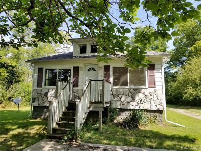 Wayne County Single Family Home For Sale: 44500 Judd Rd