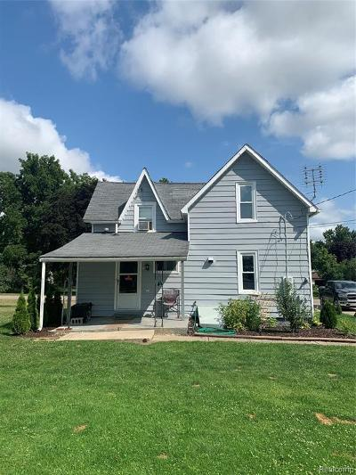 Brown City MI Single Family Home For Sale: $82,900