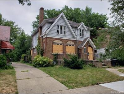 Wayne County Single Family Home For Sale: 5942 Lakeview St