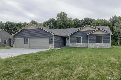 Single Family Home For Sale: 9445 Folkert Rd