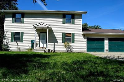 Saint Clair MI Single Family Home For Sale: $215,000