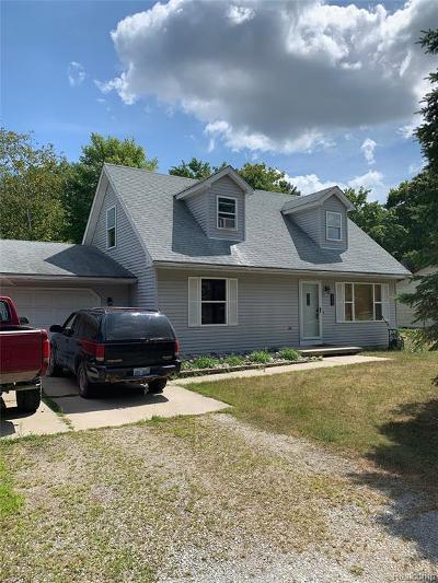 Port Huron MI Single Family Home For Sale: $159,000