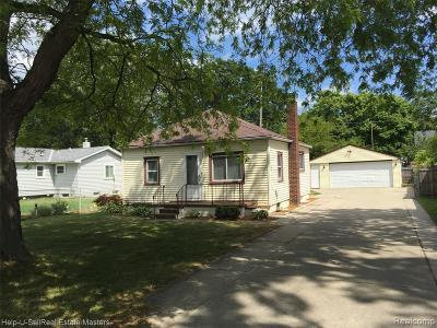Port Huron MI Single Family Home For Sale: $104,900