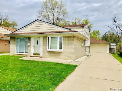 Dearborn Heights Single Family Home For Sale: 24428 Hanover St