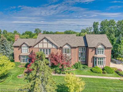 Bloomfield Hills Single Family Home For Sale: 3386 Indian Summer Dr