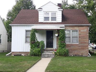 Taylor Single Family Home For Sale: 6700 Jackson St