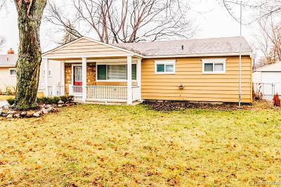 Warren Single Family Home For Sale: 23096 Lauren Ave Ave