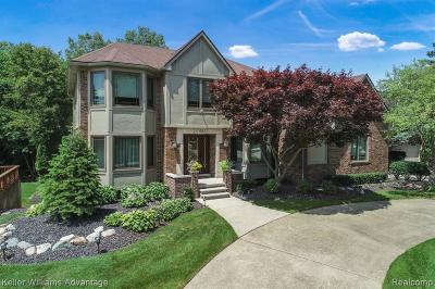 Livonia Single Family Home For Sale: 17483 Ellen Dr