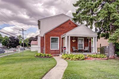 Allen Park Single Family Home For Sale: 14658 Hanover Ave