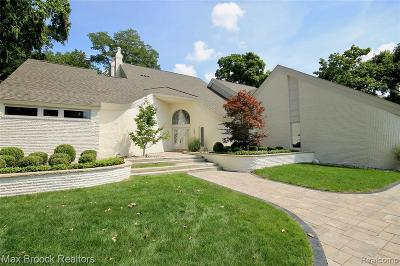 Bloomfield Hills Single Family Home For Sale: 3057 Heron Pointe Dr