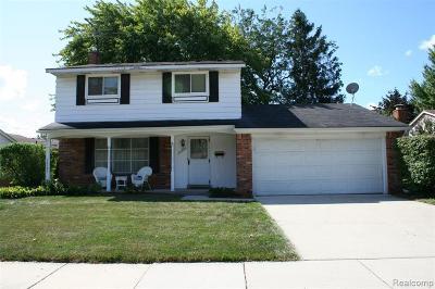 Livonia Single Family Home For Sale: 36969 Lancaster St