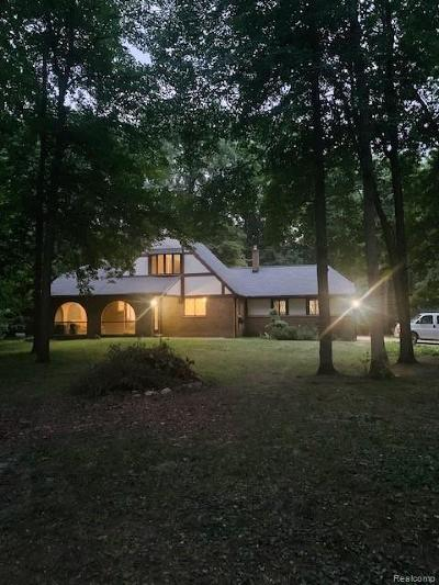 Northville Single Family Home For Sale: 48215 9 Mile Rd
