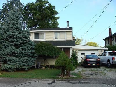 Algonac Single Family Home For Sale: 226 Mackie St