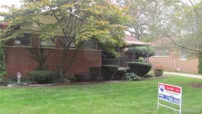 Allen Park Single Family Home For Sale: 6365 Kolb Ave