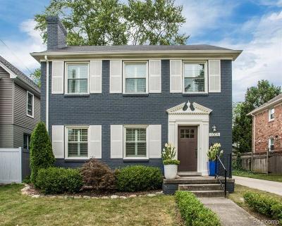Birmingham Single Family Home For Sale: 1005 Stanley Blvd