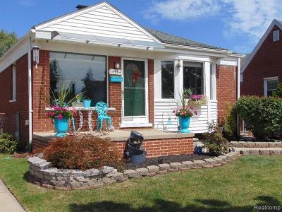 Allen Park Single Family Home For Sale: 14594 Horger Ave