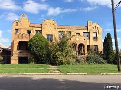 Detroit Multi Family Home For Sale: 13120 La Salle Blvd