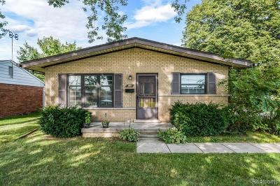 Taylor Single Family Home For Sale: 7150 Birch St