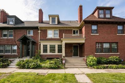 Detroit Single Family Home For Sale: 7963 Saint Paul St