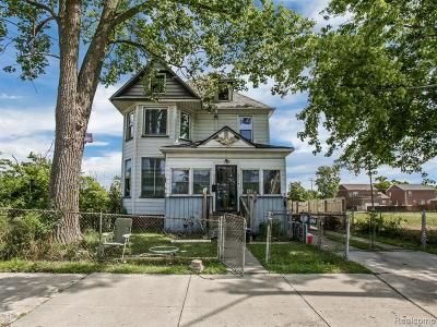 Detroit Single Family Home For Sale: 3018 14th St