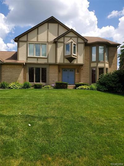 Farmington Hills Single Family Home For Sale: 30982 Huntsman Dr W