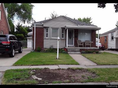 Allen Park Single Family Home For Sale: 15178 Dasher Ave E
