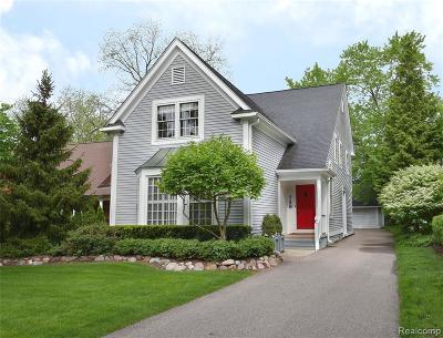 Birmingham Single Family Home For Sale: 748 Southfield Rd