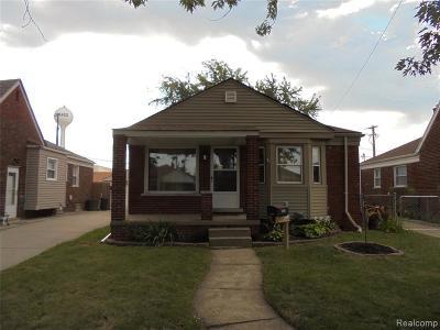 Allen Park Single Family Home For Sale: 5823 Elizabeth Crt