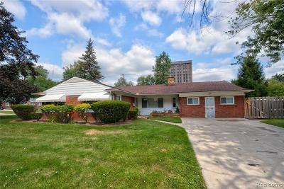 Southfield Single Family Home For Sale: 21500 Brixton Pl