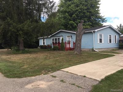 Croswell MI Single Family Home For Sale: $38,900