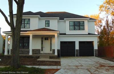 Birmingham Single Family Home For Sale: 1515 Webster Rd