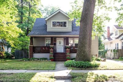 Ferndale Single Family Home For Sale: 2312 Hyland St