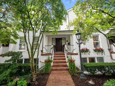 Birmingham Condo/Townhouse For Sale: 341 W Brown St