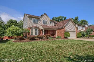 Canton Single Family Home For Sale: 750 Pheasant Woods Dr