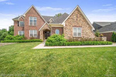 Clarkston Single Family Home For Sale: 4552 Oakhurst Ridge Rd