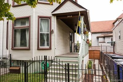 Detroit Single Family Home For Sale: 2018 11 Th St