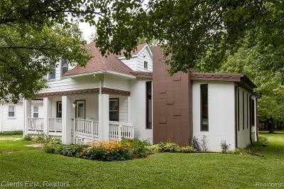 Trenton Single Family Home For Sale: 5508 Wilson St