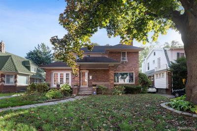 Detroit Single Family Home For Sale: 14554 Grandmont Ave