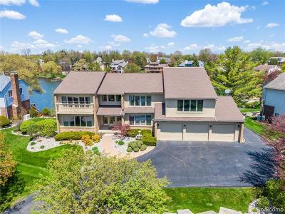 Clarkston Single Family Home For Sale: 8453 Harbortowne Dr