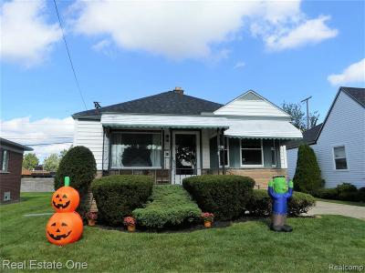 Southgate Single Family Home For Sale: 13396 Kerr St
