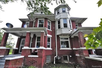 Detroit Multi Family Home For Sale: 2501 Cadillac Blvd
