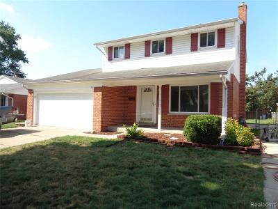 Westland Single Family Home For Sale: 2280 Minerva St